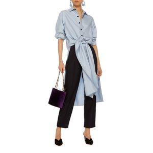 NWOT Rebecca de Ravenel 'Ming' Silk Shirtdress
